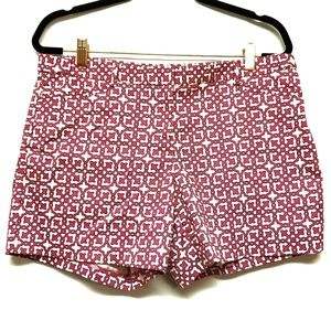 Laundry by Shelli Segal Pink/Navy Patterned Shorts
